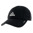 Adidas Men's Adizero II Cap (Black/ Silver/ White) - Adidas Caps & Visors Tennis Apparel