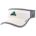 Adidas Men's Adizero II Visor (White/Onix/EQT Green) - Tennis Hats