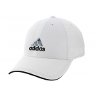 Adidas Men's Contract II Cap (White/Black/Camo Print) - Tennis Hats