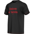 Adidas Men's RG Y-3 Event Tennis Tee  - Adidas Men's Apparel Tennis Apparel