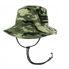 Adidas Men's Victory Bucket (Base Green/Camo Print) - Tennis Hats