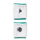 Adidas Roland Garros Small Tennis Player Wristband (White/Core Green) - Adidas Headbands & Wristbands