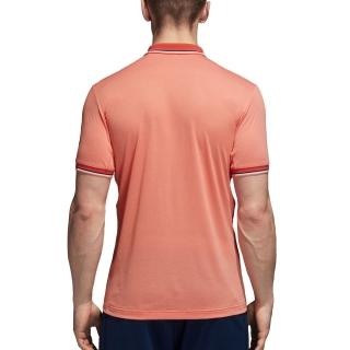 0caa9e684edad Adidas Men s Climacool Roland Garros Tennis Polo (Chalk Coral) - Do ...