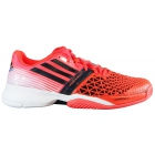 Adidas Men's CC adiZero Feather III Tennis Shoes (Red/ Black/ White) - Adidas adiZero Tennis Shoes
