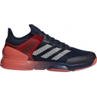 Adidas Men's Adizero Ubersonic 2 Tennis Shoe (Night Navy/Ecru Tint/Trace Scarlet) - Types of Tennis Shoes