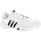 Adidas Men's Barricade SW19 Tennis Shoes (White/Black) - Adidas Barricade Tennis Shoes