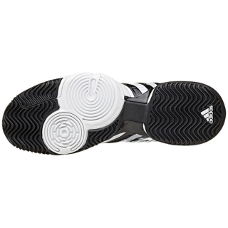 Adidas Barricade Novak pro hombre  tennis zapatos (Black / blanco / Gold