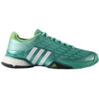 Adidas Men's Barricade Boost Tennis Shoes (Mint/Lime) - Adidas Barricade Tennis Shoes