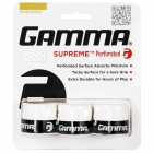 Gamma Supreme Perforated Tennis Racquet Overgrip (3-Pack) -