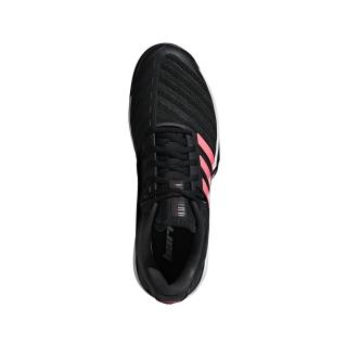 finest selection cd658 30bc7 Adidas Mens Barricade Tennis Shoe (BlackBlackFlash Red)