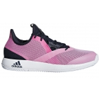Adidas Women's Adizero Defiant Bounce Tennis Shoes (Legend Ink/Shock Pink/White) - Adidas Bounce Tennis Shoes
