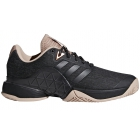Adidas Women's Barricade Tennis Shoe (Black/Ash Pearl) - 6-Month Warranty Shoes