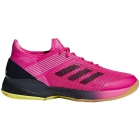 Adidas Women's Adizero Ubersonic 3.0 Tennis Shoes (Shock Pink/Legend Ink/White) - Tennis Shoes