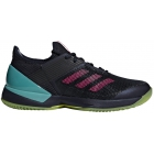 Adidas Women's Adizero Ubersonic 3.0 Tennis Shoes (Legend Ink/Shock Pink/Hi-Res Aqua) - Clearance Sale! Discount Prices on Men's Tennis Shoes