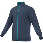 Adidas Men's Barricade Jacket (Dark Blue/ Green/ Blue) - Adidas Men's Apparel