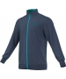 Adidas Men's Barricade Jacket (Dark Blue/ Green/ Blue) - Discount Tennis Apparel