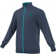 Adidas Men's Barricade Jacket (Dark Blue/ Green/ Blue) - Men's Outerwear
