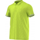 Adidas Men's Uncontrol Climachill Polo (Lime/ Silver) - Men's Adidas Apparel