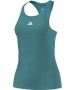 Adidas Women`s Uncontrol Climachill Tank (Shock Green/ Silver) - Women's Tops Tank Tops Tennis Apparel