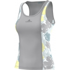 Adidas Stella McCartney Roland Garros Tank (Glacial) - Women's Tops Tennis Apparel