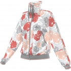 Adidas Stella McCartney Jacket (Lipstick/ Powder Rose) - Women's Outerwear Warm-Ups Tennis Apparel