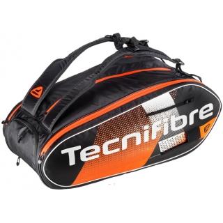 Tecnifibre Air Endurance 12R Tennis Bag (Black/Orange)