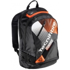 Tecnifibre Air Endurance Tennis Backpack (Black/Orange) - Tecnifibre Endurance Tennis Bags and Backpacks