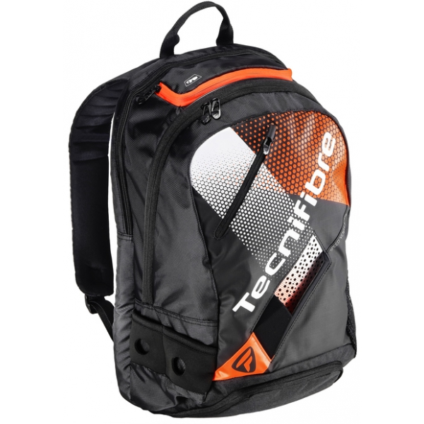 Tecnifibre Air Endurance Tennis Backpack (Black/Orange)