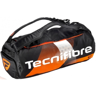 Tecnifibre Air Endurance Rackpack Tennis Bag (Black/Orange)