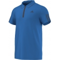 Adidas Men's Barricade Polo (Shock Blue/ Mineral Blue)