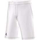 Adidas Men's Barricade Bermuda Short (White/ Dark Blue) - Adidas Men's Apparel