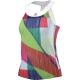 Adidas Women's adiZero Tank (White/ Shock Red) - Women's Tennis Apparel