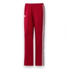 Adidas Women's T16 CC Team Tennis Pants (Red/White) - Adidas Women's Tennis Dresses, Jackets & Pants
