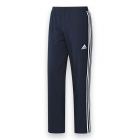 Adidas Men's T16 CC Team Tennis Pants (Navy/White) - New Style Tennis Apparel
