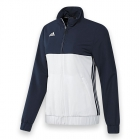 Adidas Women's T16 CC Team Tennis Jacket (Navy/White) - Adidas Women's Tennis Dresses, Jackets & Pants