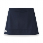 Adidas Women's T16 Team Skort (Navy/ White) - Women's Skorts