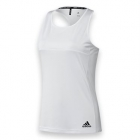 Adidas Women's T16 Team Tank (White/ White) - Women's Tank Tops