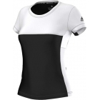 Adidas Women's T16 CC Team Tennis Tee (Black/White) - Adidas Apparel