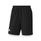 Adidas Men's T16 CC Team Tennis Shorts (Black/White) - Adidas Men's Tennis Apparel