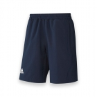 Adidas Men's T16 CC Team Tennis Shorts (Navy/White) - Adidas Men's Tennis Apparel