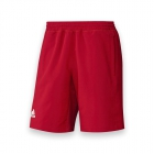 Adidas Men's T16 CC Team Tennis Shorts (Red/White) - Adidas Men's Tennis Apparel