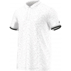 Adidas Men's Uncontrol Climachill Polo (White/ Silver) - Men's Adidas Apparel