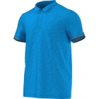Adidas Men's Uncontrol Climachill Polo (Blue/ Silver) - Men's Adidas Apparel