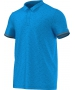 Adidas Men's Uncontrol Climachill Polo (Blue/ Silver) - Men's Tops