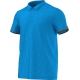 Adidas Men's Uncontrol Climachill Polo (Blue/ Silver) - Men's Tops Tennis Apparel