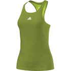 Adidas Women`s Uncontrol Climachill Tank (Lime/ Silver) - Tennis Apparel Brands