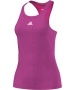Adidas Women`s Uncontrol Climachill Tank (Pink/ Silver) - Women's Tops Tank Tops Tennis Apparel