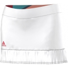 Adidas Women's Adizero Skort (White/ Shock Red)  - Women's Skorts