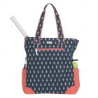 Ame & Lulu Pineapple Emerson Tennis Tote - Ame & Lulu Ladies Tennis Bags Black Friday Blowout Sale!
