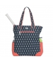 Ame & Lulu Pineapple Emerson Tennis Tote - Tennis Racquet Bags